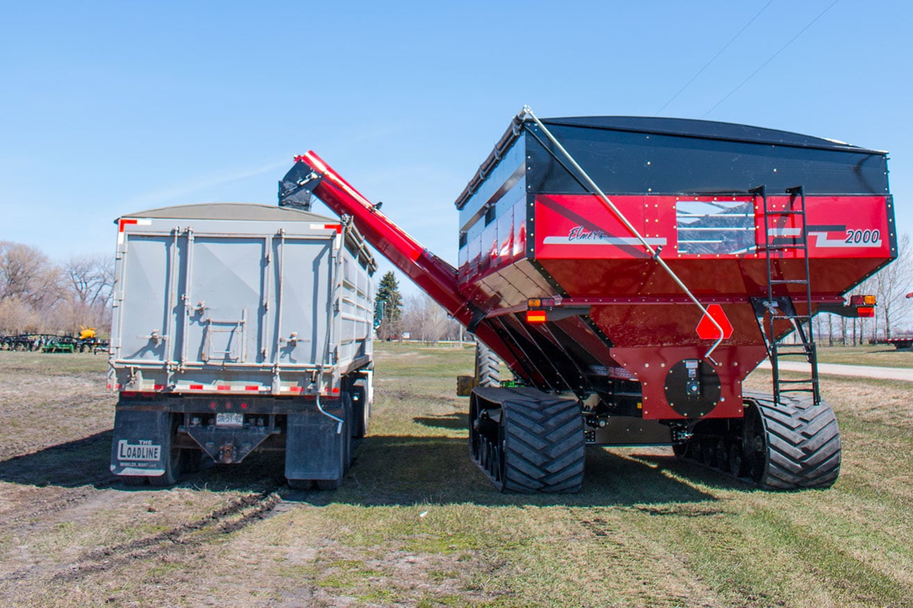 Dual Auger Grain Cart