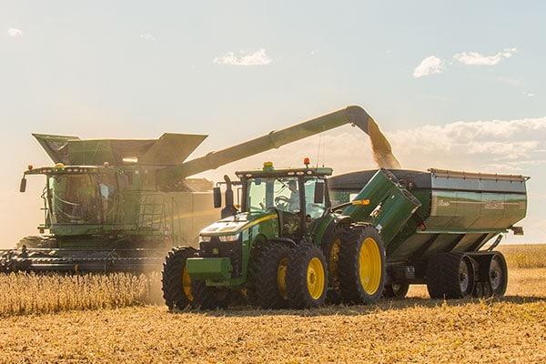 Grain Cart Field